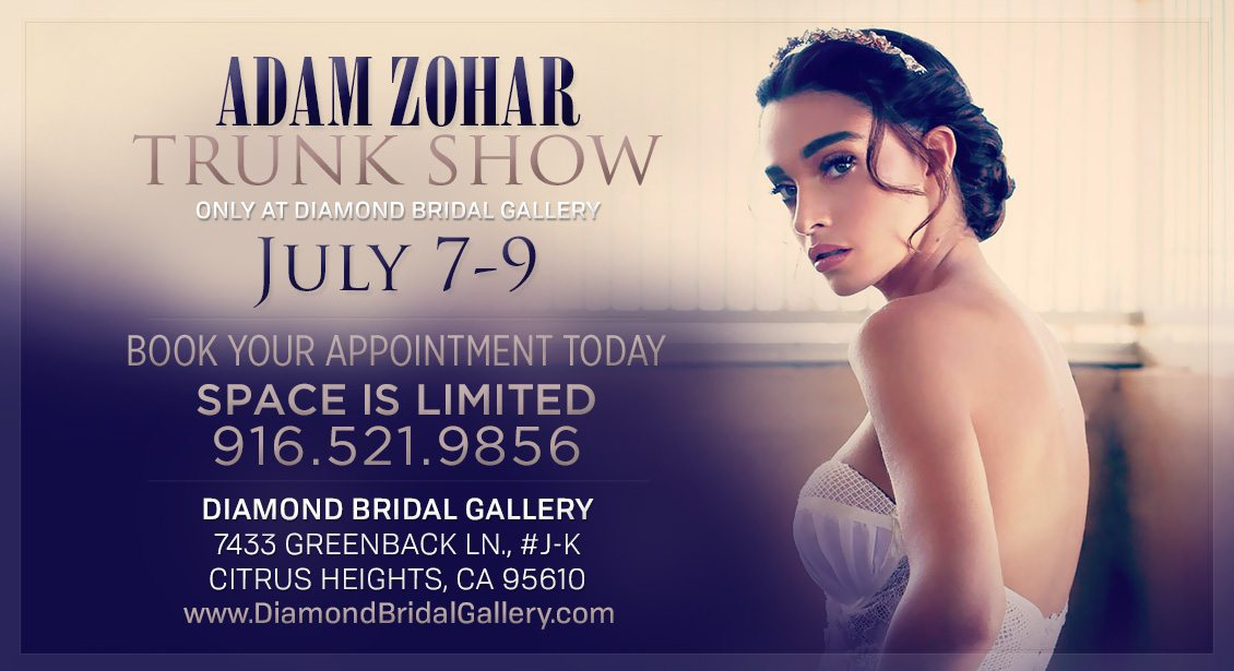 Diamond Bridal Gallery trunk show Adam Zohar