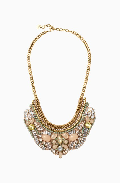 GIVERNY EMBROIDERED NECKLACE
