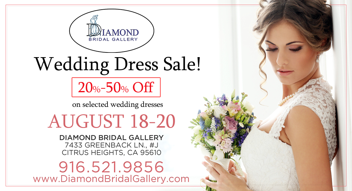 Wedding dress sale up to 50 off select styles for Wedding dress shops in sacramento