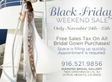 Black friday wedding dress sacramento sale
