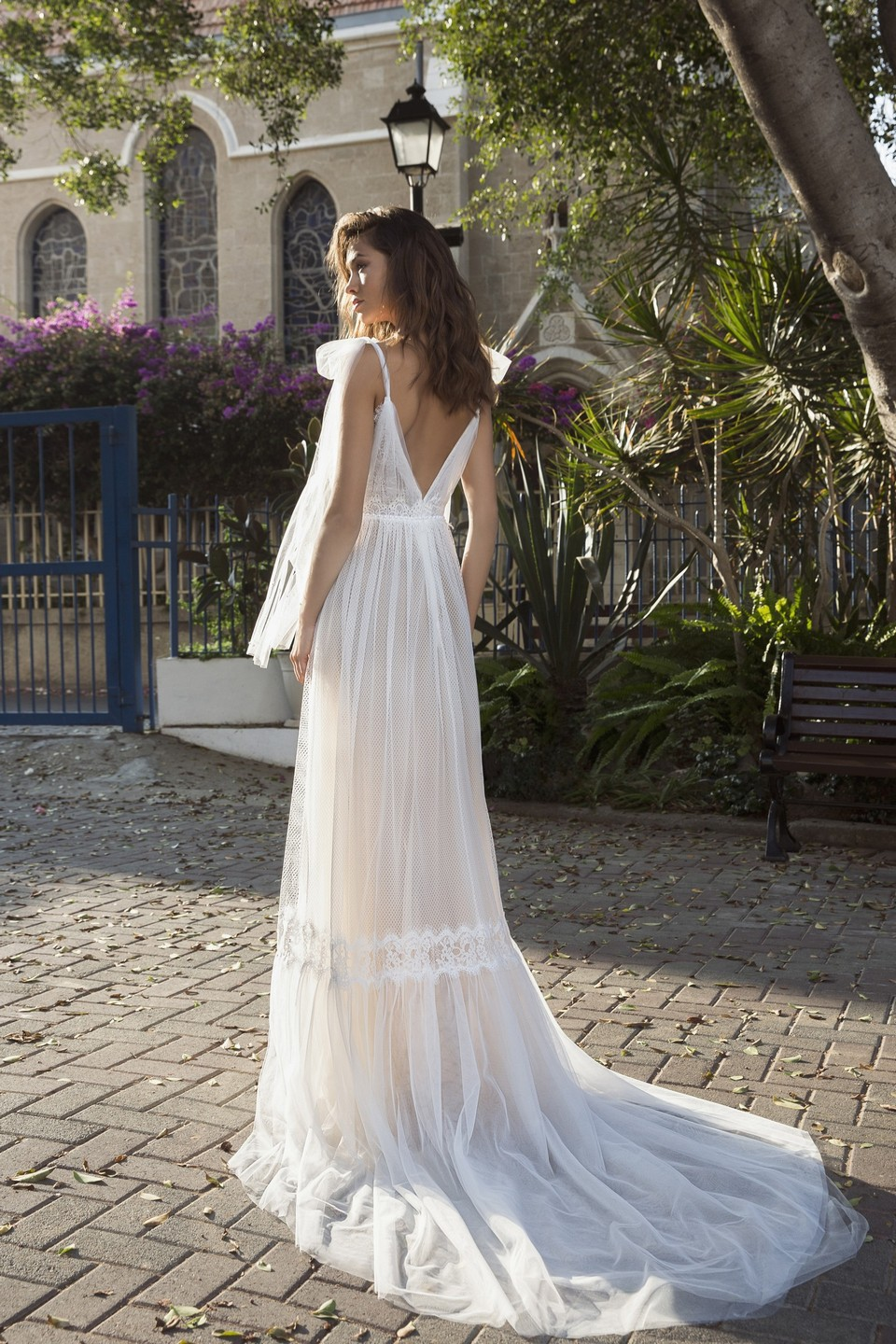 Boho Wedding Dress for Summer Wedding