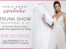 Sacramento event wedding dress showcase