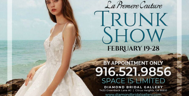 Wedding dress trunk show in Sacramento